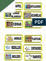 etiquetado materiales
