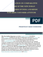 Presentation on Comparative Analysis of the New Indian