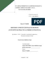 Siteme Constitutionale Europene Marcel Cusmir