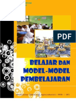 belajar dan model-model pembelajaran