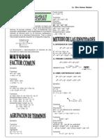 3. Factorización y Polinomios