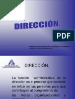 3.-Dirección
