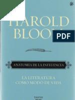 Bloom Harold - Anatomia De La Influencia.PDF
