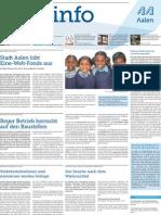 Stadtinfo Aalen - KW 15 - 2013
