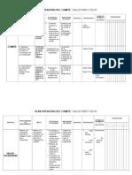 Plan Operativo Comite de Salud