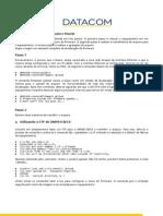 Procedimento para atualização de firmware do Router via FTP