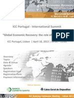 international summit - global economic recovery the role of trade finance print