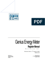 EDMI Genius Register Manual E7