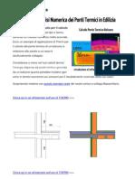 Guida THERM Analisi Numerica Ponti Termici in Edilizia