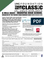 Putnam County Classic July 4 2013 Flyer