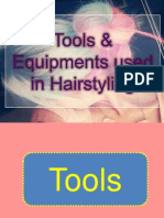 Tools in Hairstyling