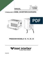 Manual Heart Interface freedom 25