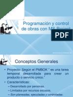 Programacion y Control de Obras Con MS Project 2010
