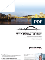 Allegheny Conference - 2012 Annual Report