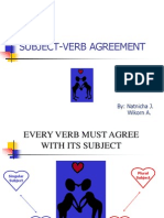 subject verb agreement final