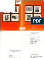 Libro Braga, Evolución de la Estructura Urbana