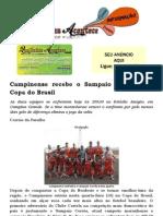 Campinense recebe o Sampaio Corrêa pela Copa do Brasil