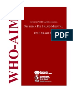 Paraguay Who Aims Report Spanish