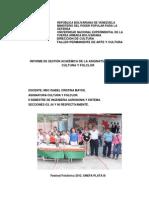 Informe Cultura 2013