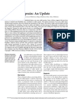 Acute Ankle Sprain- An Update