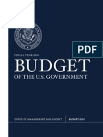 President Obama's 2014 budget proposal