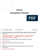 weather and atmosphere test review