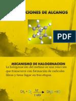Reacciones de Alcanos, Alquenos