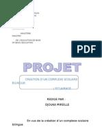 Projet Ecole