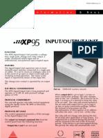 PP2017 Input Output Unit PIN