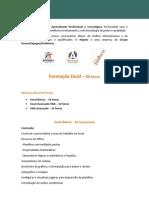 Formação  Office Excel - 3 modulos