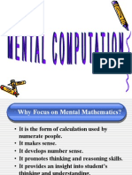 GUA MentalMath Prek-3
