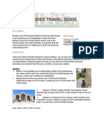 Hotels4u Rhodes Travel Guide