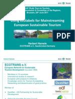 2011 Using Ecolabelsfor Mainstreaming European Sustainable Tourism