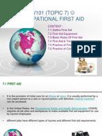 Bab 7 First Aid