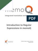 Introduction Regular Expressions En