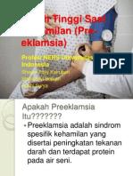 presentasi promkes hipertensi  kehamilan