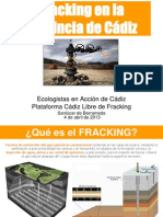Fracking en Cádiz
