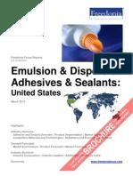 Emulsion & Dispersion Adhesives & Sealants