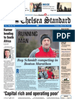 The Chelsea Standard newspaper front page.