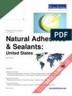 Natural Adhesives & Sealants