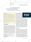 Intravenous Administration of Antineoplasic Drugs