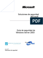 Windows Server 2003 Security Guide 1