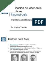 Aplicacion de Laser en NueroCirugia
