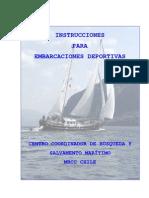 Instrucciones Embarcaciones Deportivas