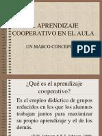 El Aprendizaje Cooperativo en El Aula