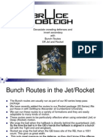 Bunch Routes in the Jet Offense