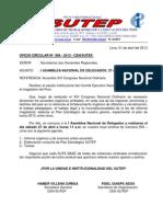 I ASAMBLEA NACIONAL DE DELEGADOS 27 de Abril 2013