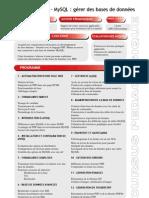 PHP MySQL Gerer Des Bases de Donnees