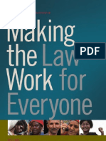 Making the Law Work for Everyone Vol I