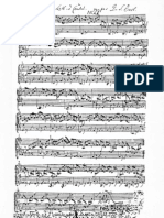 Bach (Manuscrito) Bwv 998